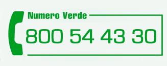 Contattaci al Numero Verde